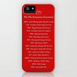 Essentials iPhone Case