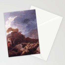 Jean-Honore Fragonard - L'Orage Stationery Cards