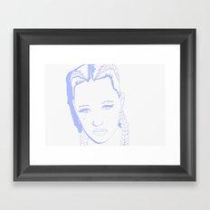 Brooke Candy II Framed Art Print