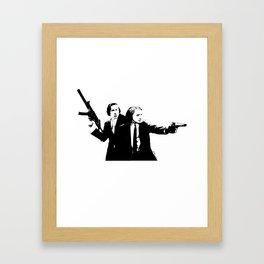 Chopin & Liszt - Gangsters Framed Art Print
