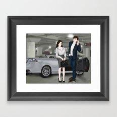 the gift that keeps on giving Framed Art Print