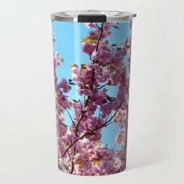 spring pink  blossoms Travel Mug