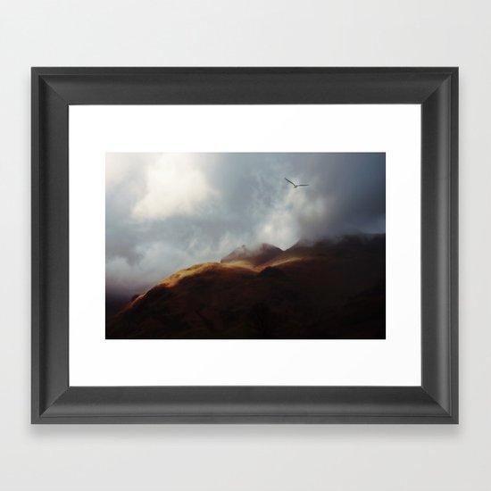 A Flair for the Dramatic Framed Art Print