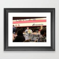 The Proud Musician Framed Art Print