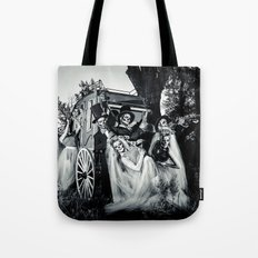 Day Of The Dead Wedding Couple Tote Bag