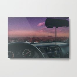 Summer on Mars Metal Print