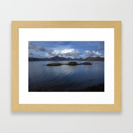 View of the Cuilin Framed Art Print
