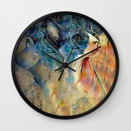cat2 Wall Clock