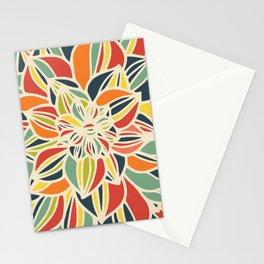 Vintage flower close up Stationery Cards