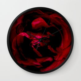 Impression of a rose Wall Clock