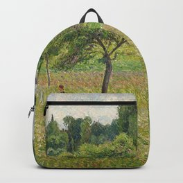 "Camille Pissarro ""Apple trees in Éragny"" (""Pommiers à Éragny"") Backpack"
