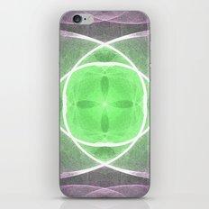 Lilac and Green iPhone & iPod Skin