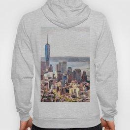 New York, panoramic view, USA Hoody