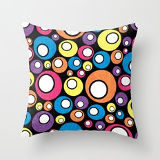 More Retro All Sorts. Throw Pillow