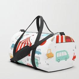 Cute children cars Duffle Bag
