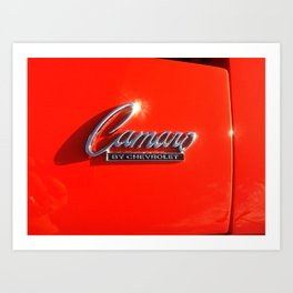 Camero ( I think )  Art Print