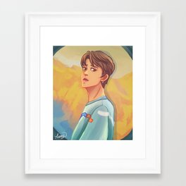 Spring day Jin Framed Art Print