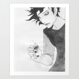 Gaki - Sumi-e Art Print