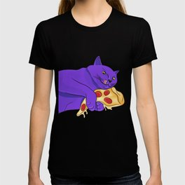 Paws off my pizza! T-shirt