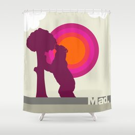Madrid Oso Shower Curtain
