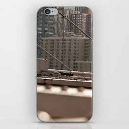 Geometric City iPhone Skin