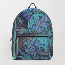 Blues & Purples Backpack