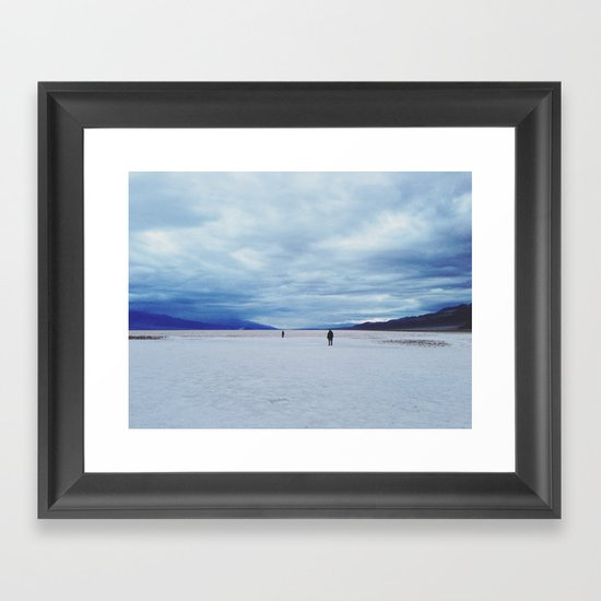 Badwater Basin Framed Art Print