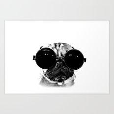 Pug must Hug Art Print