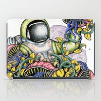 spaceman iPad Cases featuring SPACEMAN by • PASXALY •