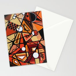 Geometric Composition Stationery Cards