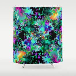 twelvetacle V Shower Curtain