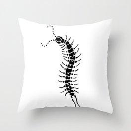 Centipede Throw Pillow
