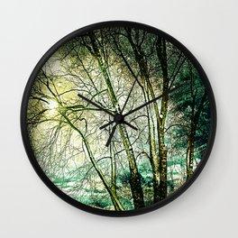 melancholic tree Wall Clock