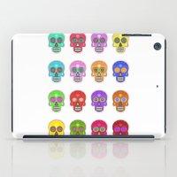 sugar skulls iPad Cases featuring Sugar Skulls by Andrew O'Rourke
