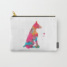 Colorful Doberman Carry-All Pouch