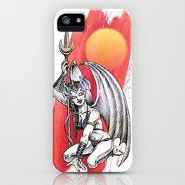 Winged Warrior Fairy iPhone Case
