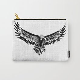 Wild eagle ecopop Carry-All Pouch