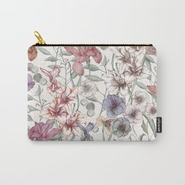 Magical Floral  Carry-All Pouch