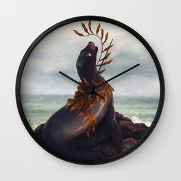 Cold Shore Wall Clock