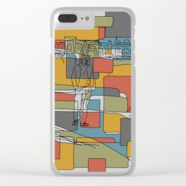 Postcard from Boulevard of Solitude Clear iPhone Case