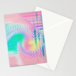 Distorted signal 03 Stationery Cards