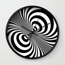 Dualism (black & white) Wall Clock
