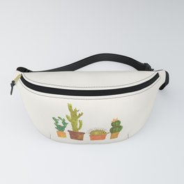 Hedgehog and Cactus (incognito) Fanny Pack