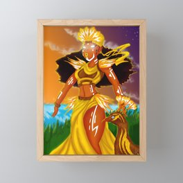 Oshun Framed Mini Art Print