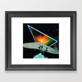 Walls of Silence Framed Art Print