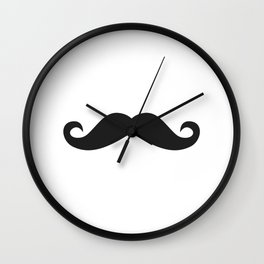 Movember Stache Wall Clock