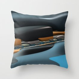 Streamliner no. 1 Throw Pillow