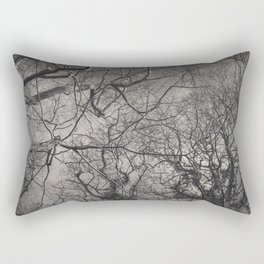 Labyrinth of Branches Rectangular Pillow