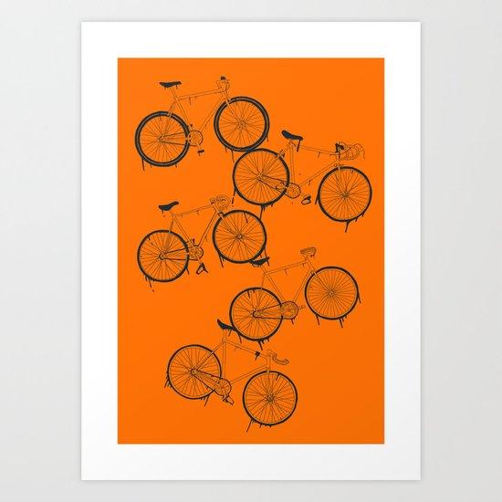 BIKES YO! Art Print