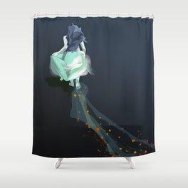 Buscando un camino Shower Curtain